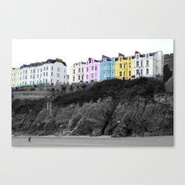 Tenby,Wales, United Kingdom. Canvas Print