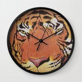 Tiger resting Wall Clock