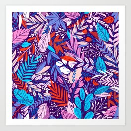 Floral Frenzy 1 Art Print