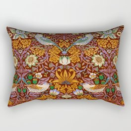 "William Morris ""Strawberry Thief"" 3. Rectangular Pillow"