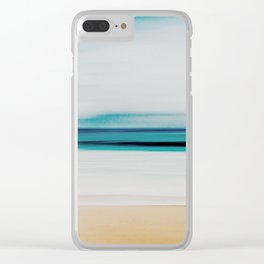 At the Beach Clear iPhone Case
