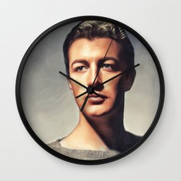 Robert Taylor, Vintage Actor Wall Clock