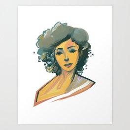 Clour Art Print