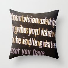 Get it Throw Pillow