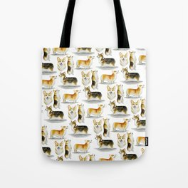Corgi Congregation Tote Bag