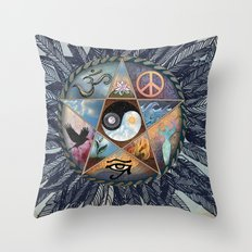 All Tribes Heed the Call Throw Pillow