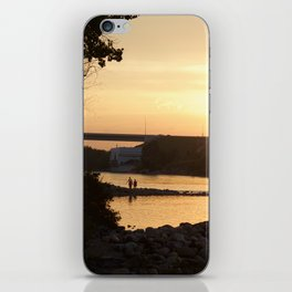 Sunset over Bowness Calgary iPhone Skin