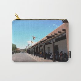 Santa Fe Old Town Square, No. 4 of 7 Carry-All Pouch