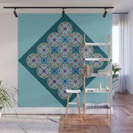 Prelude to Metatron (Turquoise) Wall Mural