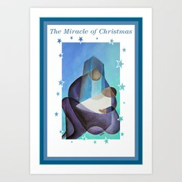The Miracle Of Christmas Art Print