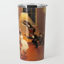 African-American Classical Masterpiece 'Tongues (Holy Rollers)' by Archibald Motley Travel Mug