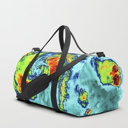 NASA-NOAAs Suomi NPP Satellite Gets Colorful Look at Hurricane Blanca Duffle Bag