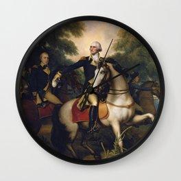 Rembrandt Peale - Washington Before Yorktown. Wall Clock