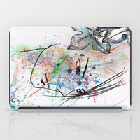 anime iPad Cases featuring Anime 3  by Del Vecchio Art by Aureo Del Vecchio