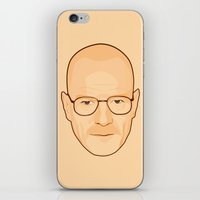 walter white iPhone & iPod Skins featuring Walter White by sknny
