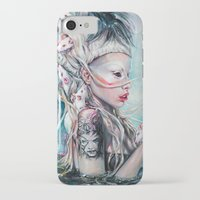 rat iPhone & iPod Cases featuring Yolandi The Rat Mistress 	 by Tanya Shatseva