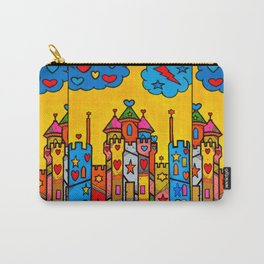 PopART Castle Dream (selfpaint) by Nico Bielow Carry-All Pouch