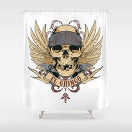 El Gringo Shower Curtain
