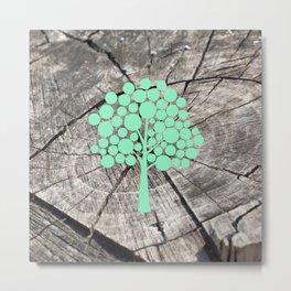 Last tree (designer) Metal Print