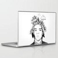 basquiat Laptop & iPad Skins featuring Basquiat by offthefaceoftheearth