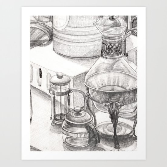 Kitchen Still Life Art Print
