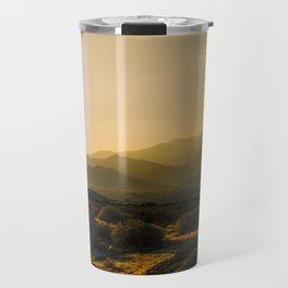 The Fading Light of Gorgonio Pass Travel Mug