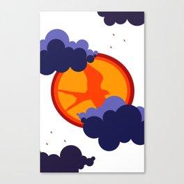 Soaring bird Canvas Print