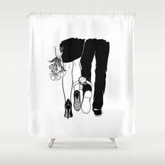 Till the love runs out Shower Curtain