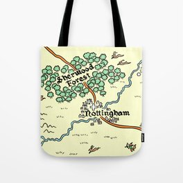 Sherwood Forest Tote Bag