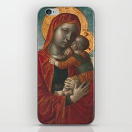 Madonna and Child by Vincenzo Foppa, 1480 iPhone Skin