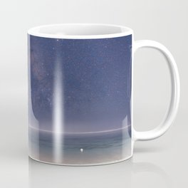 The Milky Way On Bali Beach Coffee Mug