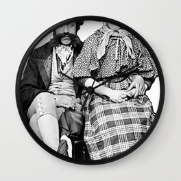 Welsh Couple  Wall Clock