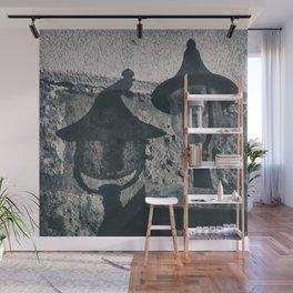 The harmful lamp Wall Mural