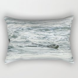 Harbor Seal, No. 2 Rectangular Pillow