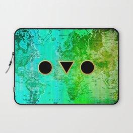 Shape your world Laptop Sleeve