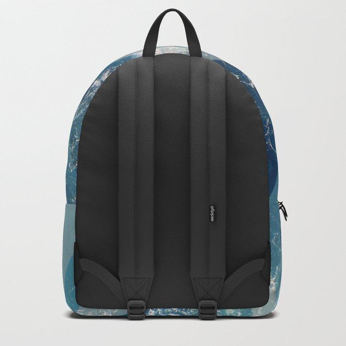 Geometric sea Backpack