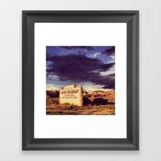 Paria Outpost Framed Art Print