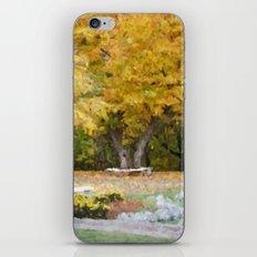 Gatineau Park iPhone & iPod Skin