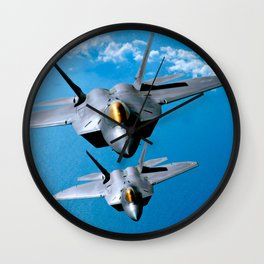 Lockheed Martin F-22 Raptor Wall Clock