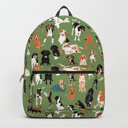 Hound District green Backpack