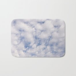Strato Cumulus Clouds Bath Mat
