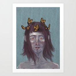 Borboletas  Art Print