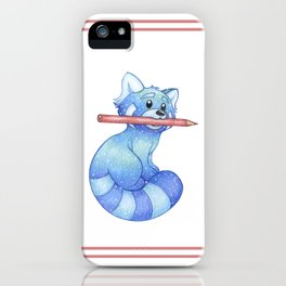 Muse, The Blue Panda iPhone Case