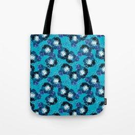 Pretty Anemone Pattern Tote Bag