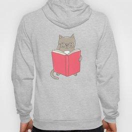 Cat booklover Hoody