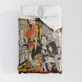 Kill Bill Movie Poster Comforters