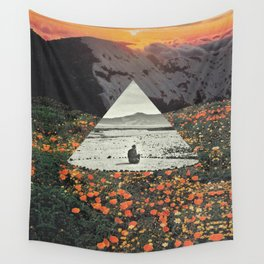 Harmony with flowers Wall Tapestry