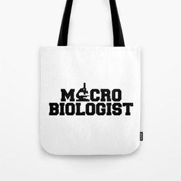 Micro Biologist Tote Bag