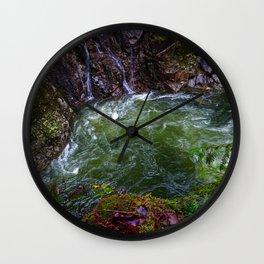 Capilano Curve Wall Clock