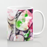 soul Mugs featuring Soul by SensualPatterns